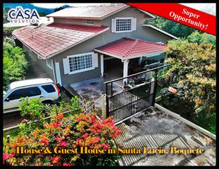 Residential Property for sale in Super Opportunity House Plus Guest House For Sale in Santa Lucia, Boquete, Panama, Boquete, Chiriquí
