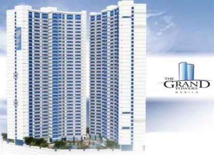 Condominium for sale in Deluxe 1 BR, Furnished Condo Unit with Tenant in The Grand Towers, Manila, Manila, Metro Manila