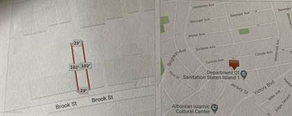 Lots And Land for sale in 0 Brook Street, Staten Island, NY, 10301