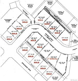 Lots And Land for sale in 37 Doherty Street, New Maryland, New Brunswick, E3C 1C5