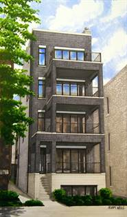 Residential Property for sale in 1443 West Augusta Boulevard 1, Chicago, IL, 60642