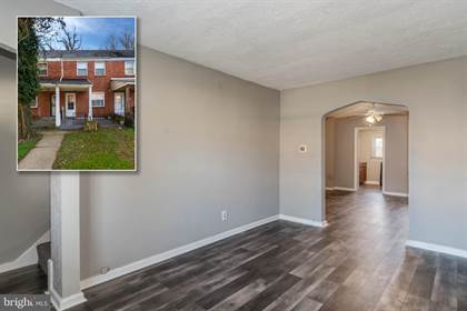 Residential Property for sale in 4826 BEAUFORT AVENUE, Baltimore City, MD, 21215