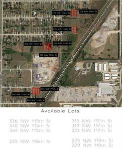 Lots And Land for sale in 336 NW 115th Street, Oklahoma City, OK, 73114