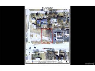 Land for sale in 3 LOTS Walton, Waterford, MI, 48329