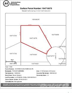 Lots And Land for sale in 317 Hamm COURT, Aberdeen, Saskatchewan, S0K 0A0
