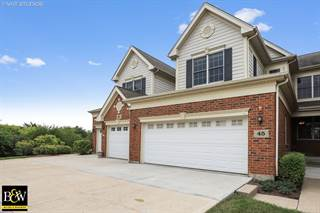 Townhouse for sale in 45 Harborside Way, Hawthorn Woods, IL, 60047
