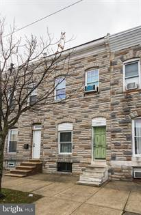 Residential Property for sale in 3409 E FAIRMOUNT AVENUE, Baltimore City, MD, 21224