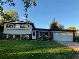 Single Family for sale in 5840 PONTIAC LAKE Road, Waterford, MI, 48327