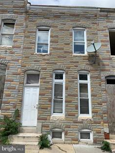 Residential Property for sale in 1926 WALBROOK AVE, Baltimore City, MD, 21217