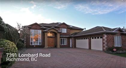 Single Family for rent in 7391 LOMBARD ROAD, Richmond, British Columbia, V7C3M9