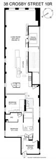 Residential Property for sale in 38 Crosby Street 10R, Manhattan, NY, 10024