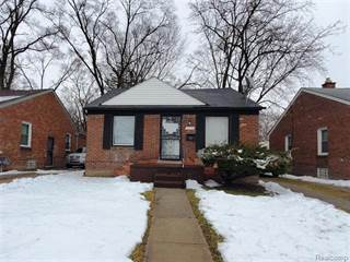 Single Family for sale in 18628 LINDSAY Street, Detroit, MI, 48235