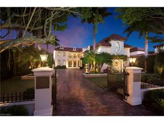 Single Family for sale in 1201 Galleon DR, Naples, FL, 34102