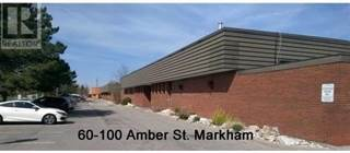 Industrial for rent in 60 AMBER ST 8, Markham, Ontario, L3R2Z9