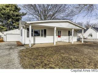 Single Family for sale in 805 ADAMS ST, Pawnee, IL, 62558