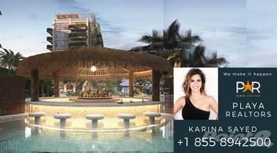 Condominium for sale in EXCLUSIVE Apartment 3 BED. - Room with Terrace - OCEAN FRONT-  Playa del Carmen, Solidaridad, Quintana Roo