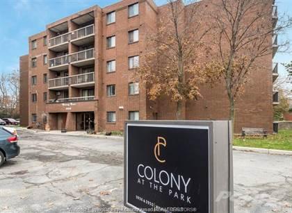 Condominium for sale in 3950 WYANDOTTE E, Windsor, Ontario, N8Y 1B1
