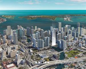 Residential Property for sale in LOFTY BRICKELL Riverfront Residences - 99 SW 7th street, Miami, FL, 33130
