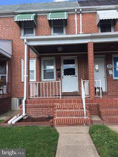 Residential Property for rent in 346 IMLA STREET, Baltimore City, MD, 21224