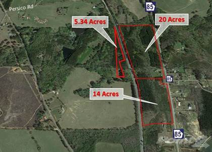 Land for sale in Persico Road and Jessie Cole Rd, Manchester, GA, 31816