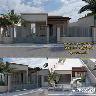 Residential Property for sale in HERMOSO PROYECTO EN SFM, DE OPORTUNIDAD, San Francisco de Macorís, Duarte
