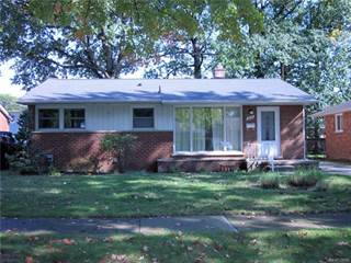 Single Family for sale in 1018 SYMES Court, Royal Oak, MI, 48067