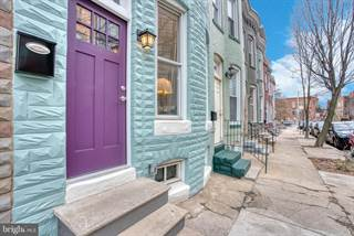 Townhouse for sale in 1527 BARCLAY STREET, Baltimore City, MD, 21202