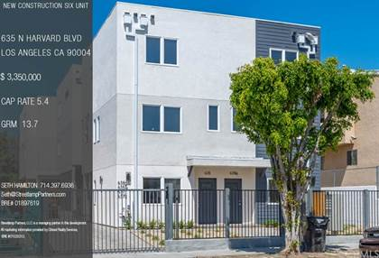 Multifamily for sale in 635 N Harvard Boulevard, Los Angeles, CA, 90004