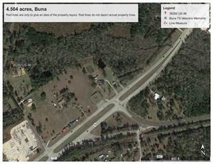Land for sale in 4.504 US Highway 96 S, Buna, TX, 77612