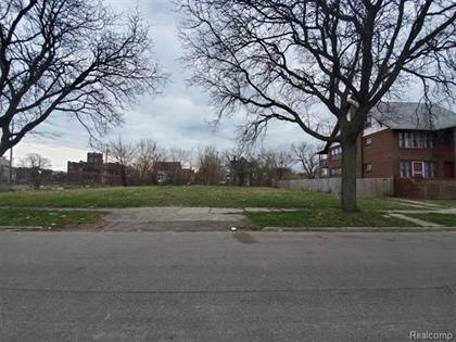 Lots And Land for sale in 101 BLAINE, Detroit, MI, 48202