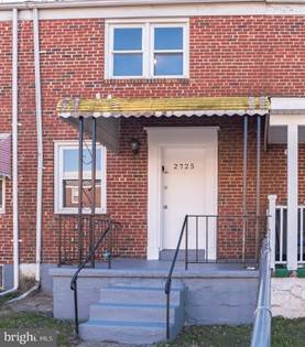 Residential Property for rent in 2725 UHLER AVENUE, Baltimore City, MD, 21215