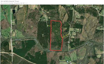 Lots And Land for sale in 0 Iron Bridge Road, Lawrenceville, VA, 23868