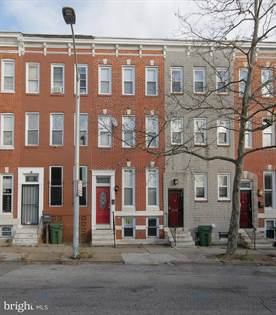 Residential Property for rent in 1123 N MOUNT STREET, Baltimore City, MD, 21217