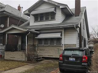 Single Family for sale in 7420 WOODROW WILSON ST Street, Detroit, MI, 48206