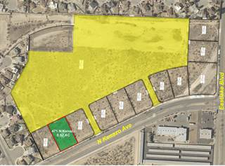 Land for sale in 471 N Kenazo Avenue, El Paso, TX, 79928