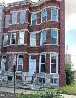 Multifamily for sale in 2920 PARKWOOD AVENUE, Baltimore City, MD, 21217