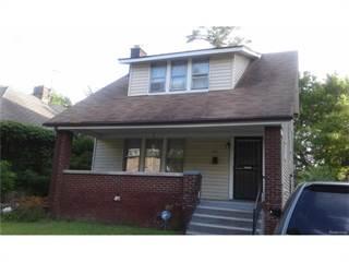 Single Family for sale in 431 MARLBOROUGH, Detroit, MI, 48215