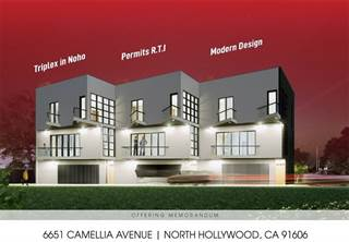Multi-family Home for sale in 6651 Camellia Avenue, North Hollywood, CA, 91606