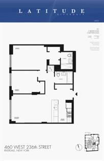 Propiedad residencial en venta en 460 West 236th Street 5-C, Bronx, NY, 10463