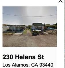 Single Family for sale in 230& 240 Helena St, Los Alamos, CA, 93440
