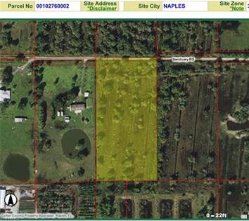 Lots And Land for sale in Xxxx sanctuary rd, Naples, FL, 34120