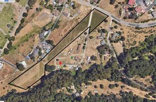 Land for sale in Fairview Dr., Hayward, CA, 94542