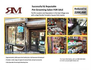 Retail Property for sale in 420 East 9th Street, Manhattan, NY, 10009