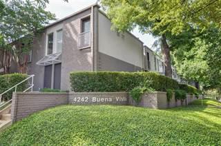 Condo for sale in 4242 Buena Vista Street 4, Dallas, TX, 75205