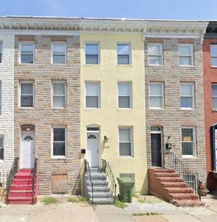 Residential Property for sale in 1144 W Lombard St, Baltimore, MD 21223, Baltimore City, MD, 21223