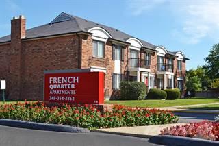 Apartment for rent in French Quarter - Southfield, MI - 1 Bedroom, Southfield, MI, 48033
