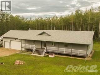 Single Family for sale in 102065 TOWNSHIP RD 580, Slave Lake Region, Alberta
