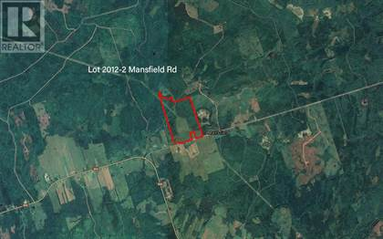 Agriculture for sale in Lot 2012-2 Mansfield Road, Rural Cumberland, Nova Scotia