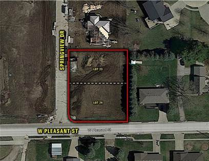 Lots And Land for sale in 804 Springview Drive, Pleasantville, IA, 50225