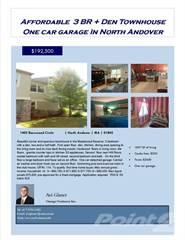 Condo for sale in 1405 Basswood Circle, North Andover, MA, 01845